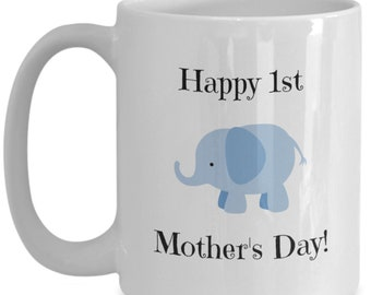 First mother's day boy | Mothers Day Mug | Mother's Day Gift | Gift from Son Or Daughter | Funny Gift For Mom | Mug for Mom | Gift for Mom