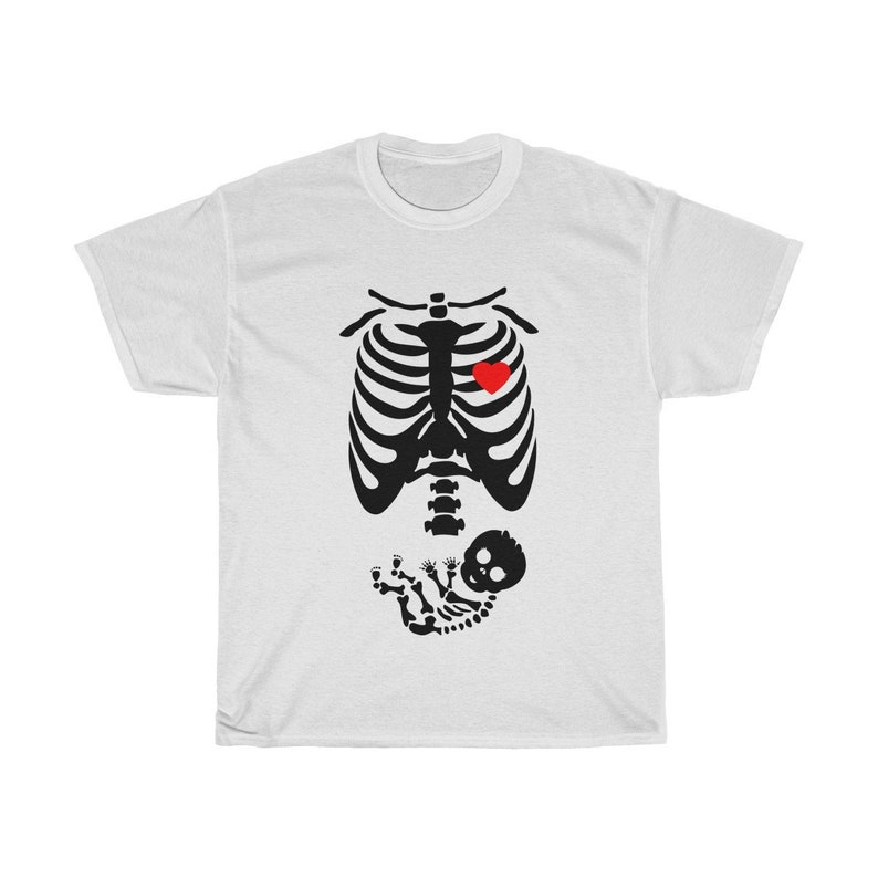 My Baby Boy is ready For Halloween  Heavy Cotton T-shirt image 0