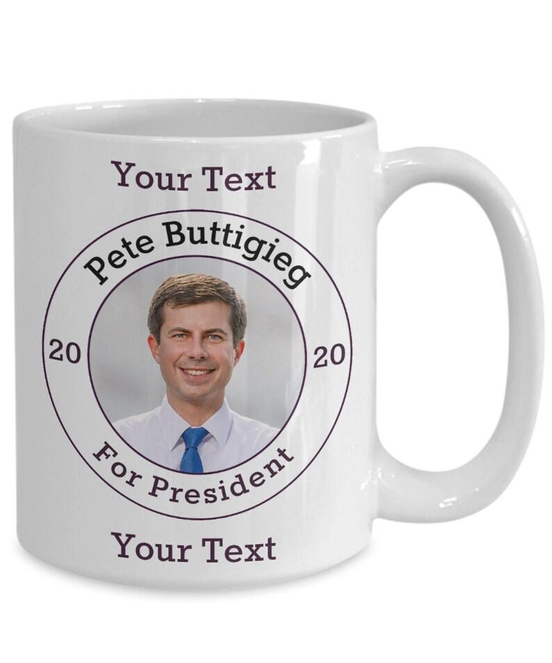 Pete Buttigieg Democrat Candidate For President 2020 White image 0