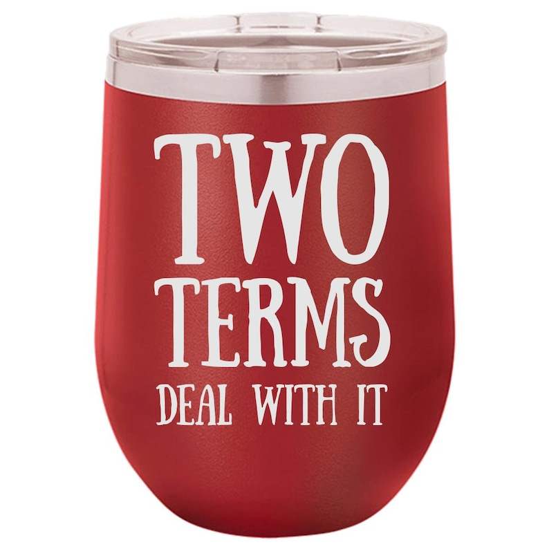 Naughty Wine Tumbler for Christmas Funny Wine Tumbler for image 0