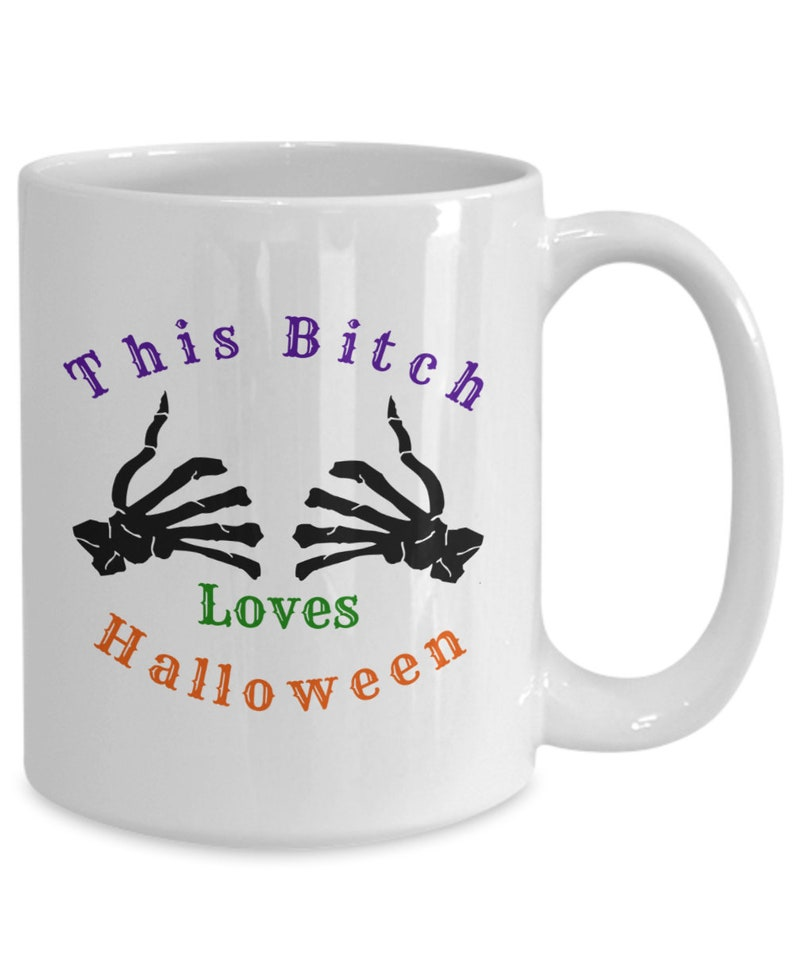 25% off Sale  This bitch loves halloween image 0