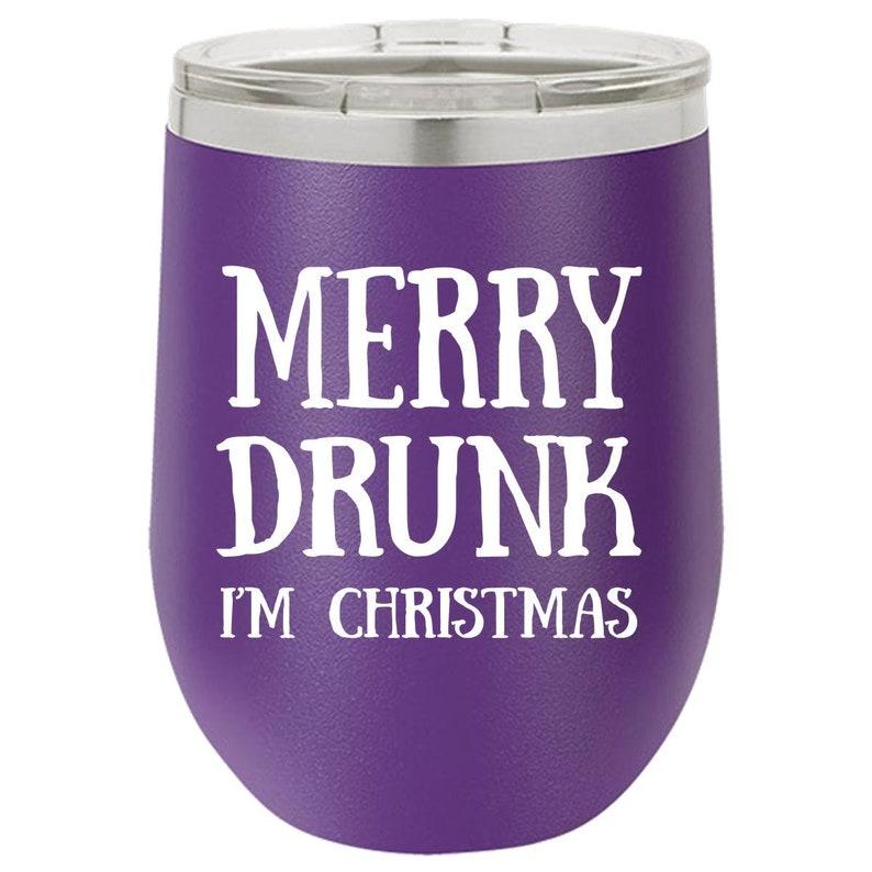 Wine Tumbler for Him Naughty Wine Tumbler Christmas Gift for image 0