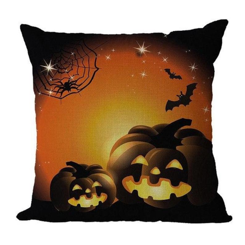 25% off Sale  Halloween  Pillow Cover Linen image 0