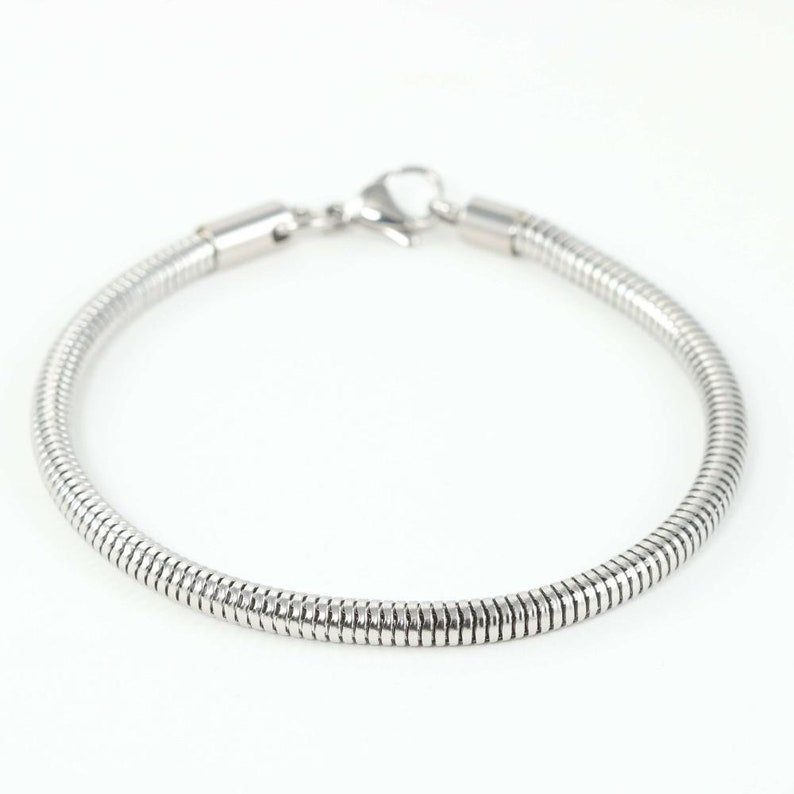 Bracelet Beautiful Stainless Steel Right For Charms image 0