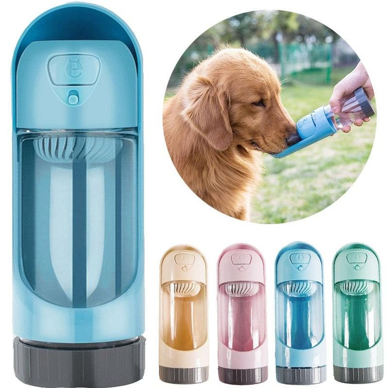 Portable Pet Dog Water Bottle For Small or Large Dogs image 0