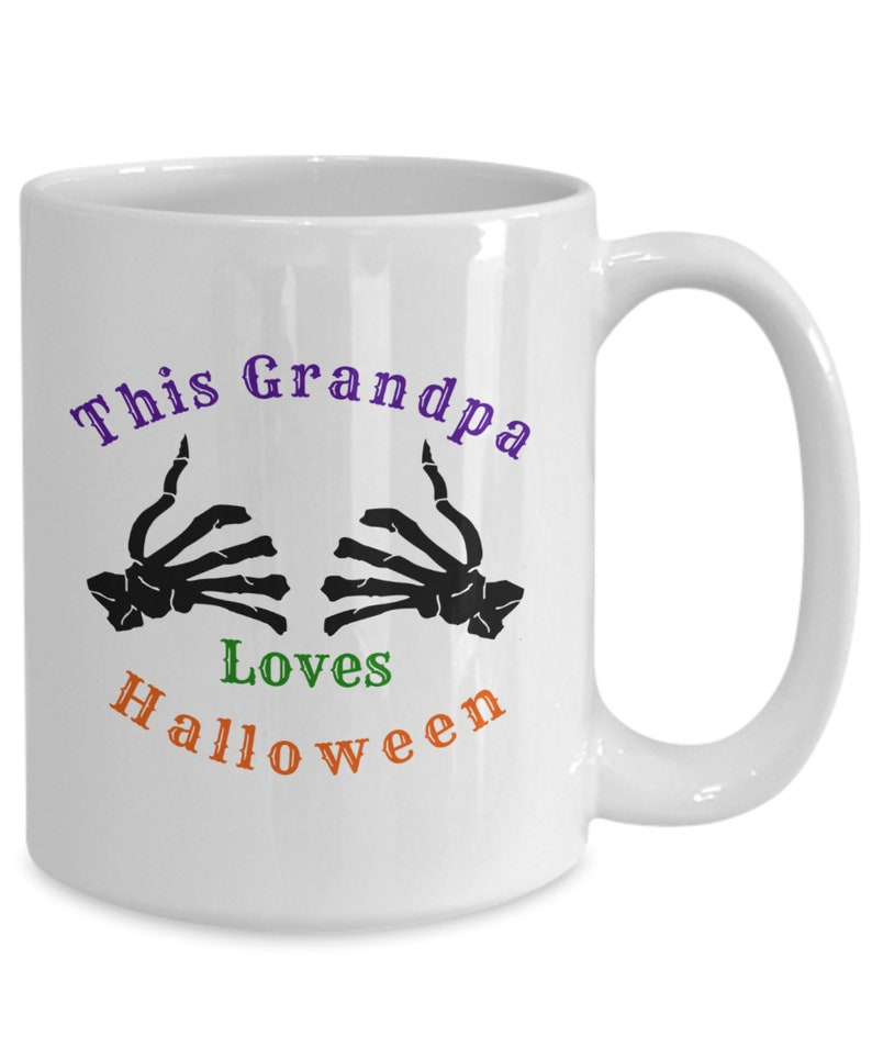 This grandpa loves halloween image 0