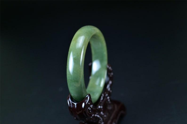 Jadeite Jade Bangles Gemstone Bracelet 55.5 mm 060320107
