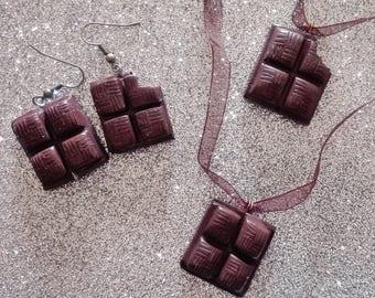 Chocolate jewelry