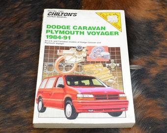 dodge caravan repair record