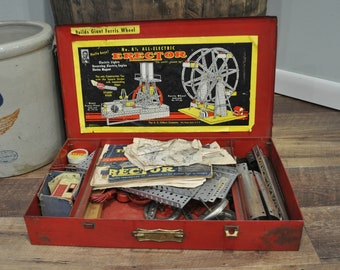 Metal Erector Set Etsy