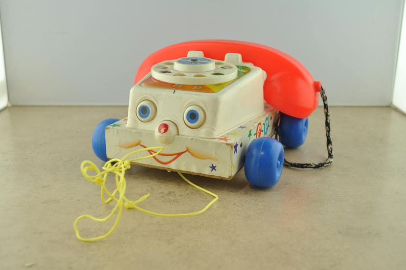 107ae2fe6de3 Fisher Price Toys Chatter Telephone 747 1961