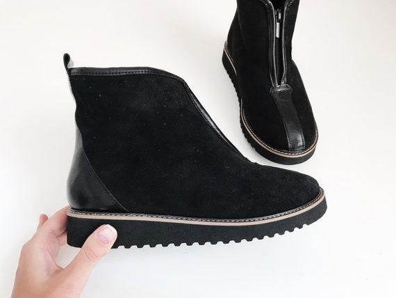 Größe Uggs Damen Schuhe 6 Custom Kurze Booties Ugg Stiefel Schaffell 9DH2EI