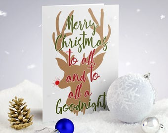 Holiday Card Sets - Rudolph Inspired