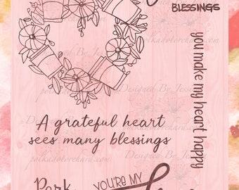 A Grateful Heart - Polka Dot Orchard