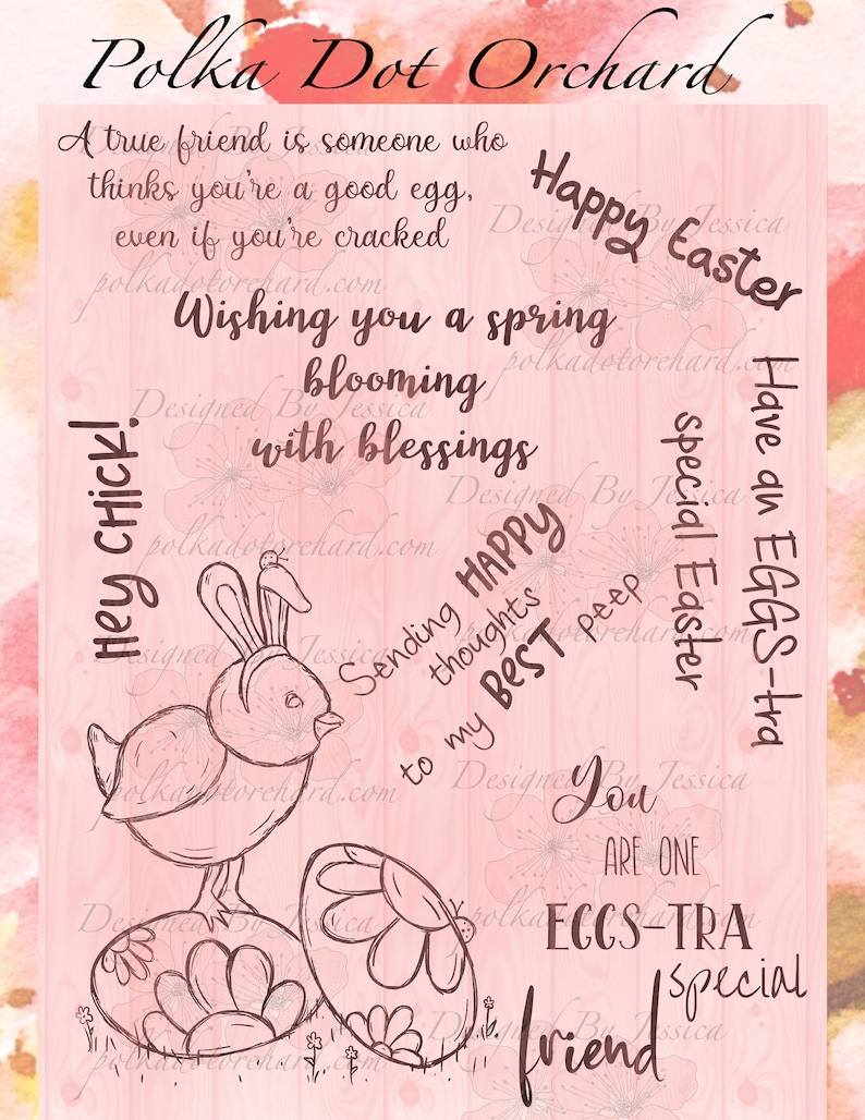 EGGS-tra Special Easter Digi Set image 0