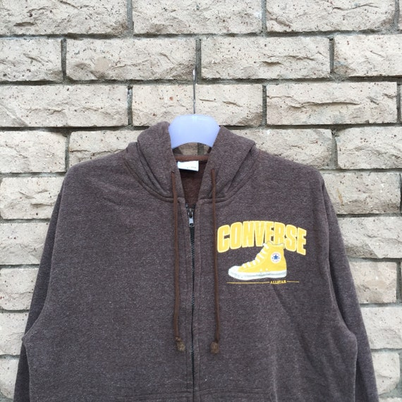 Converse Hoodie Spell Out Big Logo.. All Star.. Ye