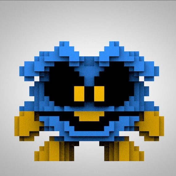 Super Mario Pixel Art Pixel Toy Handmade Toy Mario Bros Toy Videogame Toy Pixelart