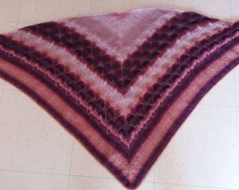 shawl red gradient