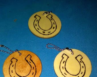 Lucky Horseshoe Keychain