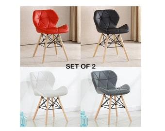 Fabulous Set Von Eames Style Cecilia Stuhl Moderne Wohnzimmer Esszimmer  Stuhl Millmead Pentagone Stuhl Mid Century Design Eames Style With Sthle  Set ...