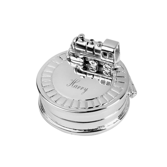 Christening Gift New Hallmarked Sterling Silver Tooth Fairy Box