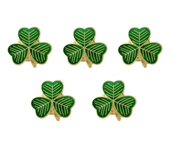 "Patricks Day 25mm Badge Small 1/"" badges St Irish Shamrock for St Paddys Day."