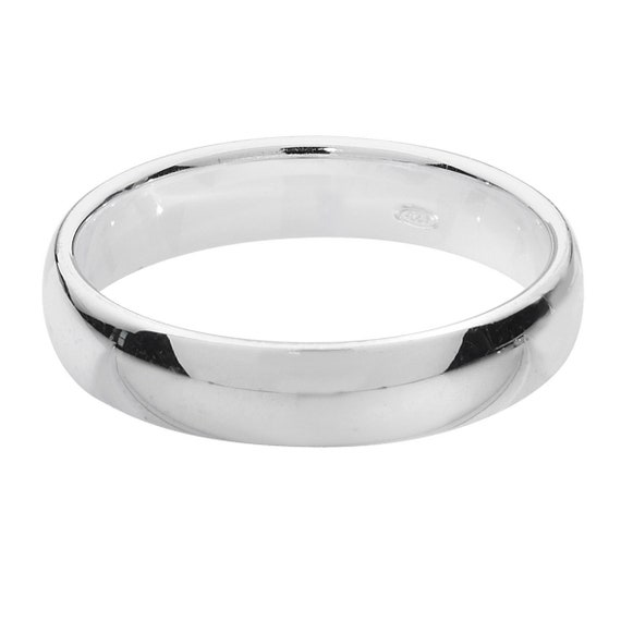 """Titanium Court Shaped Ring Engraved /""""I Love You/"""" 4mm 5mm 6mm 7mm 8mm *Ring Box*"""
