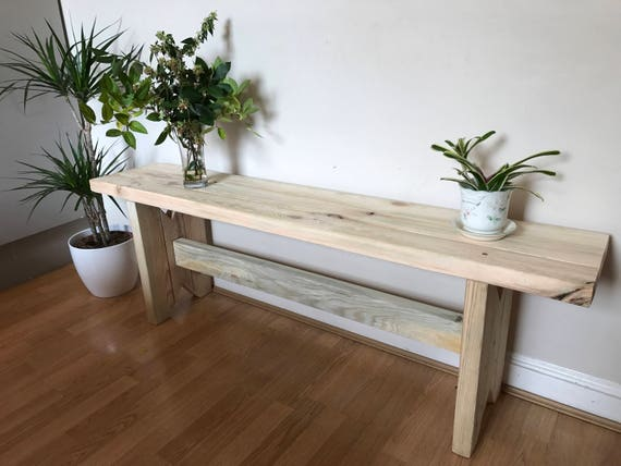 Stupendous Alex Bench Handmade Bespoke Wooden Wood 2X4 Bench Ideal For Garden Or Dining Area Indoor Or Outdoor Any Colour Evergreenethics Interior Chair Design Evergreenethicsorg