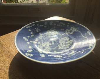 Antiques Asian Oriental Chinese Prunus Plates 1920's Century Charger