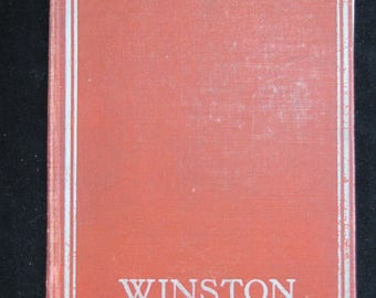 The Crisis, By Winston Churchill 1905 Hardcover Vintage Book