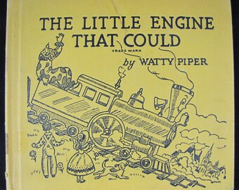 The Little Engine that Could // 1945 First Edition Early Issue // Children's Classic // Illustrated by George & Doris Hauman