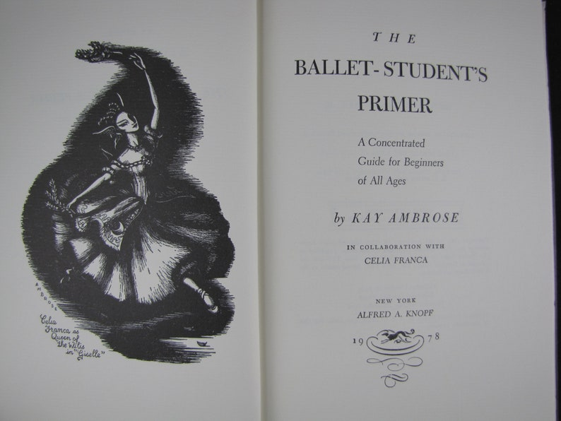 A concentrated guide for beginners of all ages, The ballet-students primer;