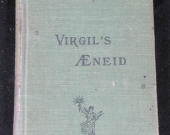 Virgil's Aeneid // 1906 hardback // The First Six Books // Pocket Edition
