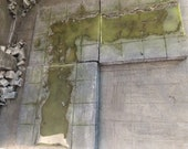 5 piece Sewer tiles, 28 mm table top game pay.