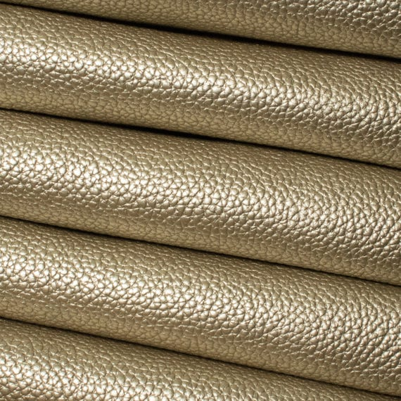 Pearl Metallic Leatherette Fabric Faux Leather Crafts and Bows A4 Sheets