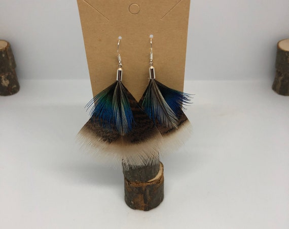 Funky and Unique Feather Earrings - FREE SHIPPING