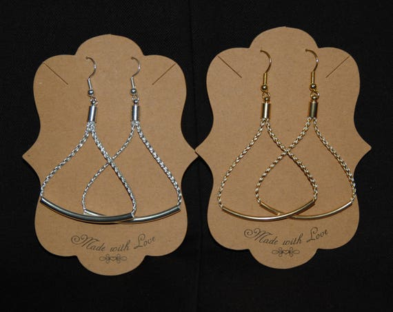 Slim Collection Earrings - Gold or Silver