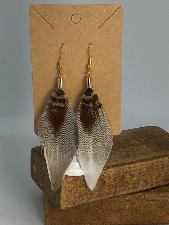 Lightweight Feather Earrings
