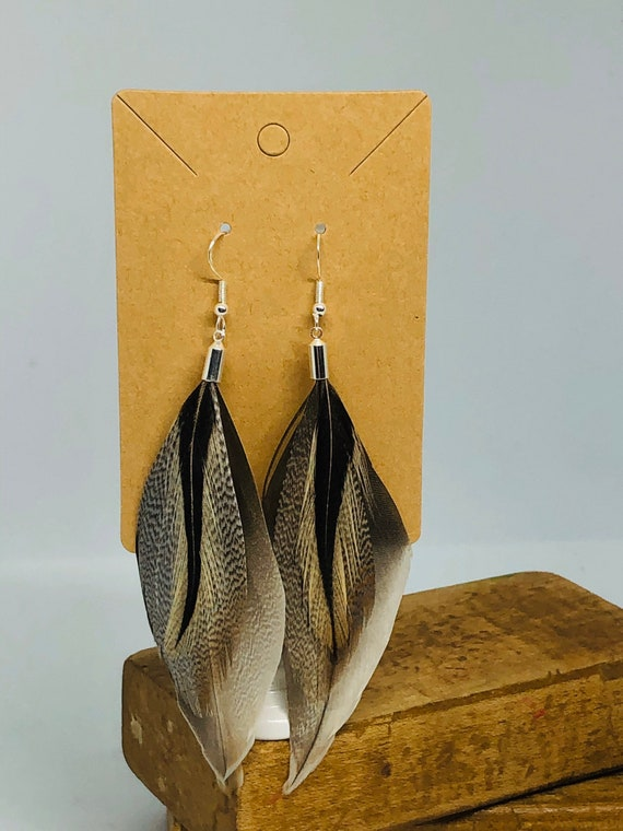 Unique Feather Earrings