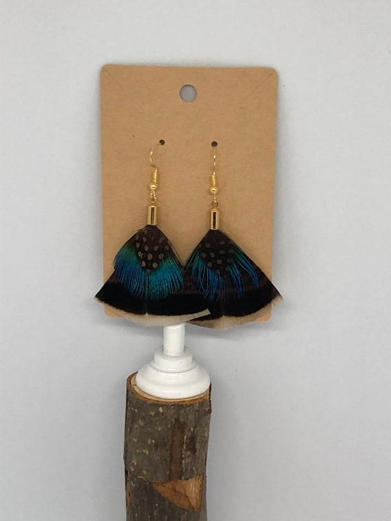 Polka Dots and Peacock Feathers! - FREE SHIPPING