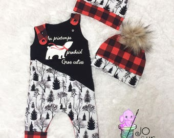 Scalable romper custom order