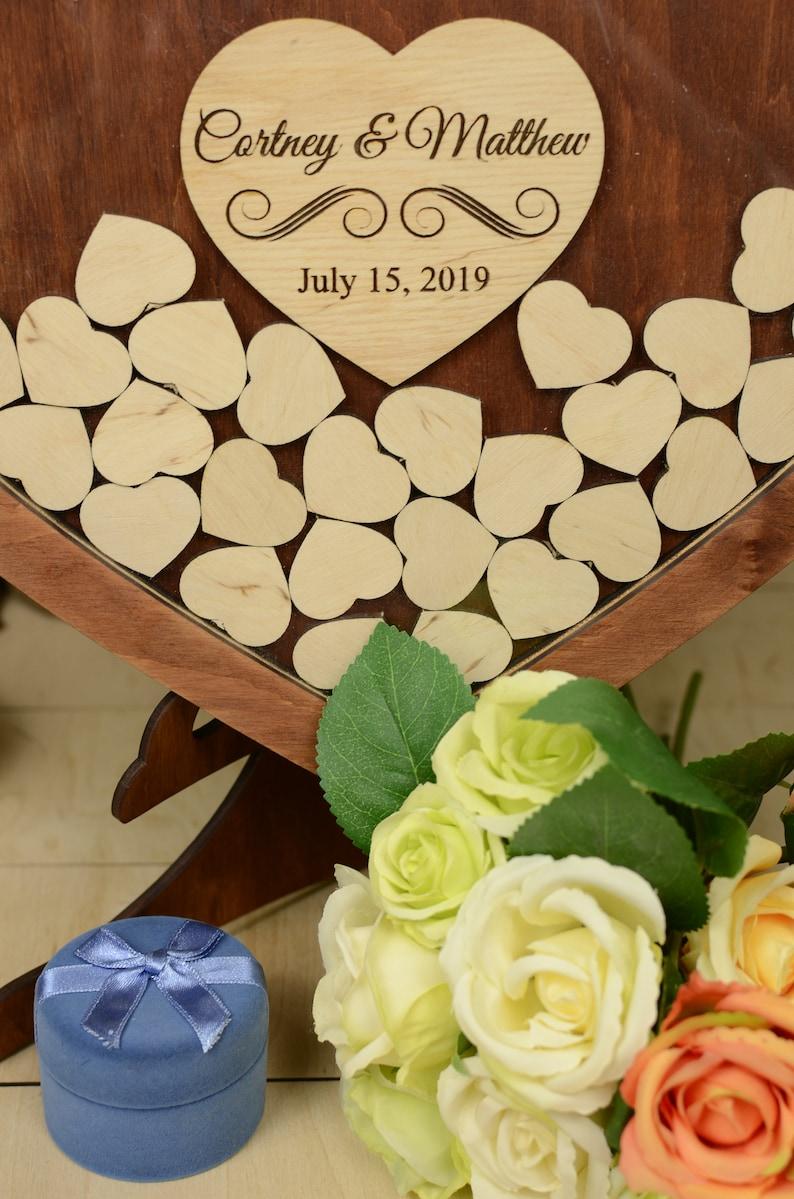Rustic guestbook Wedding guest book Wedding guestbook Guestbook Guest book wedding Drop box guest book Frame guest book  Wedding gift