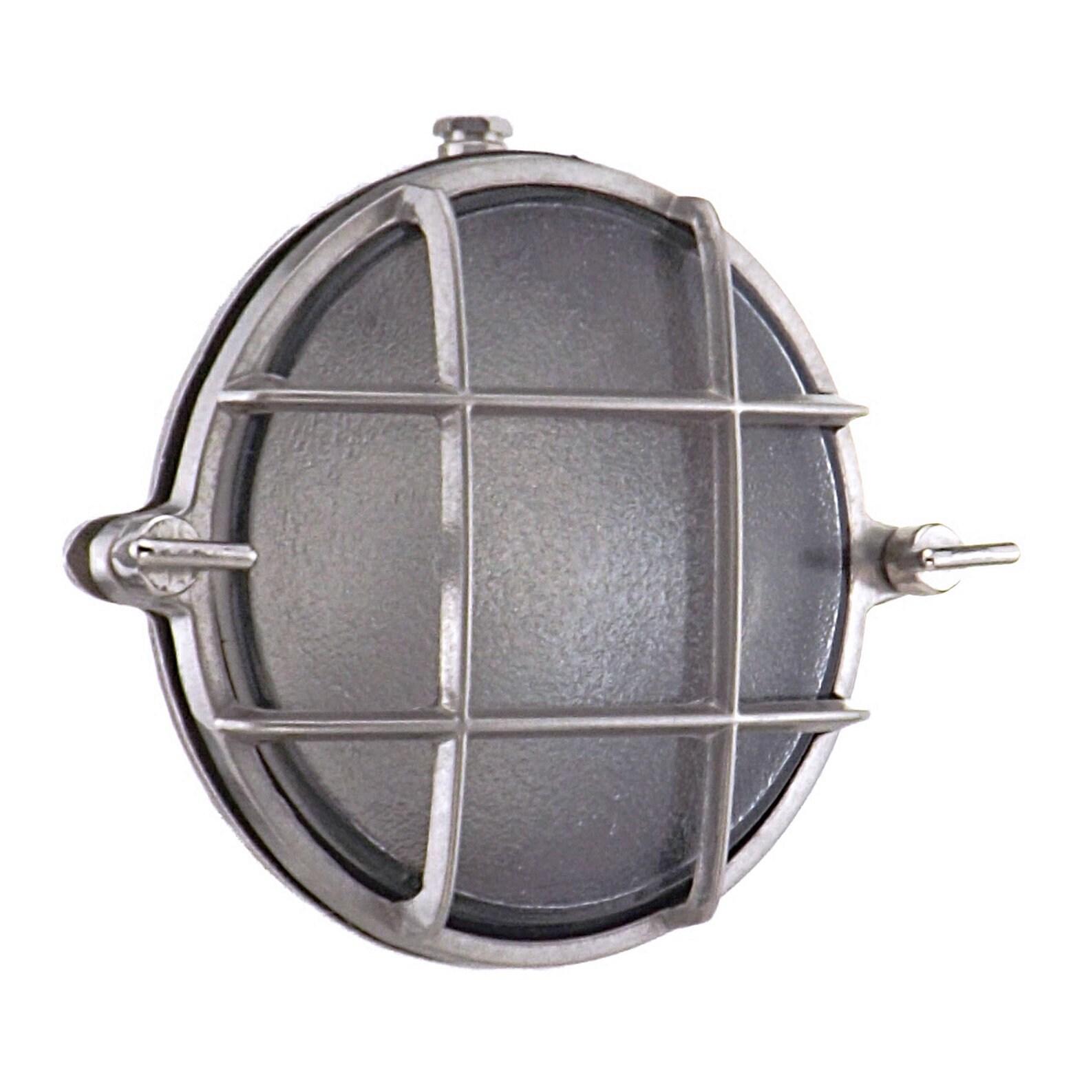 9d41232ff8e Rotterdam Brass Bulkhead Round Outdoor Waterproof lamp Light
