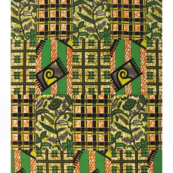 Tissu africain wax en gros de 6 6 de yards / africain en tissu imprimé / pagne / suprême cire holland / super wax hollandais wax hollandais A1090611 65c4c2