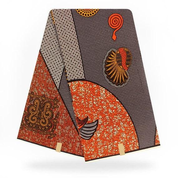 Tissu africain wax en gros de 6 / yards / africain en tissu imprimé / pagne / 6 suprême cire holland / super wax hollandais wax hollandais A1090610 aa04d0