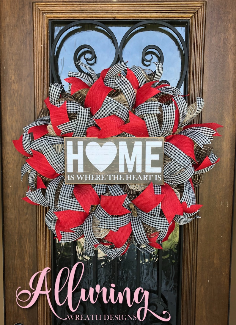 Farmhouse Wreath for Front Door image 0