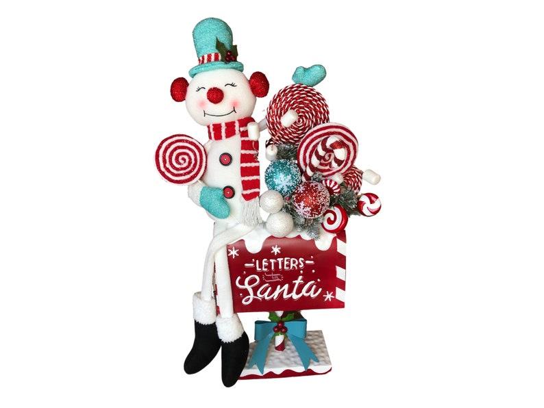 Christmas Snowman Centerpiece image 0