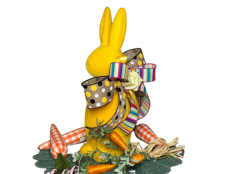 Easter Bunny Centerpiece in Yellow for Table image 0