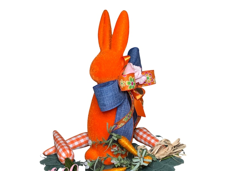 Easter Bunny Centerpiece in Orange for Table image 0