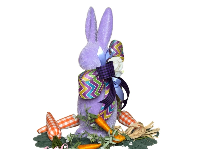 Easter Bunny Centerpiece in Purple for Table image 0